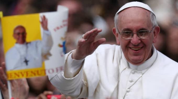 Påven ska vara för en ändring till ett fast påsk-datum. Foto: Dan Kitwood