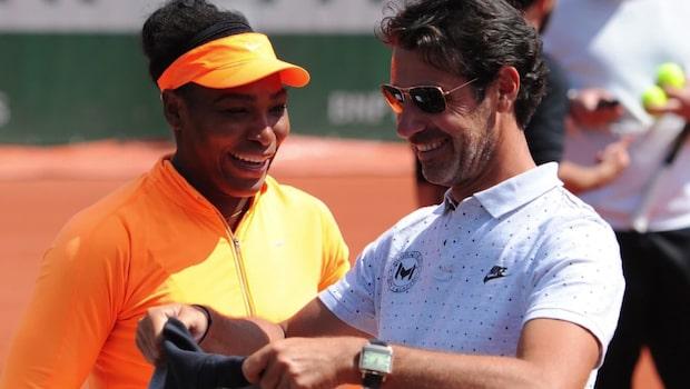 Serena Williams berättar om hemlige älskaren