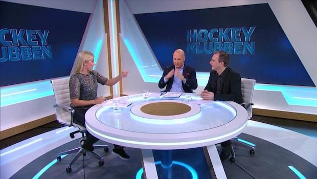 """Hockeyklubben – Nyströms rubrik: """"En seger för svensk hockey"""""""