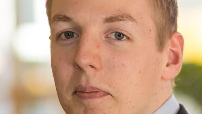 Mattias Tykesson (M), ledamot i Göteborgs fullmäktige. Foto: PRESSBILD