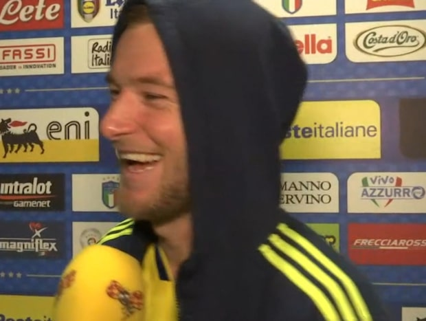 """Guidettis pik mot Granqvist: """"Mycket snyggare än honom"""""""
