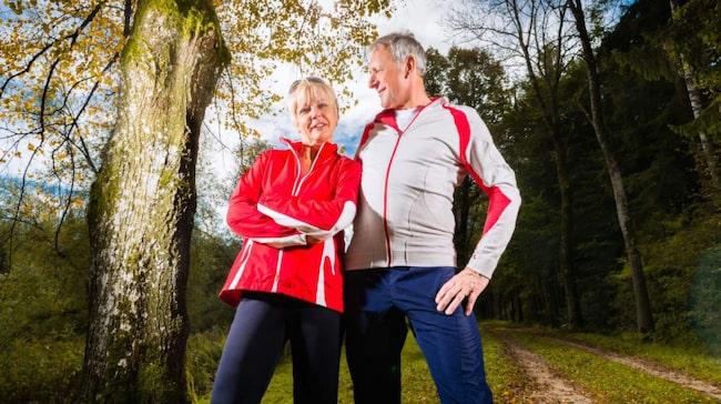 springa med högt blodtryck