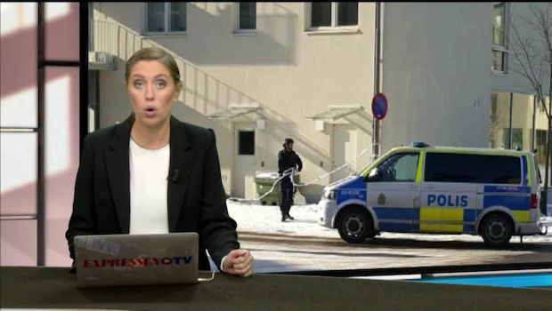 Stor polisinsats i södra Stockholm – man skjuten