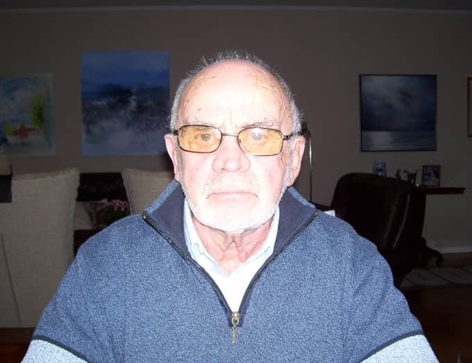 Nu vill han varna andra och framför allt äldre människor. Foto: Privat