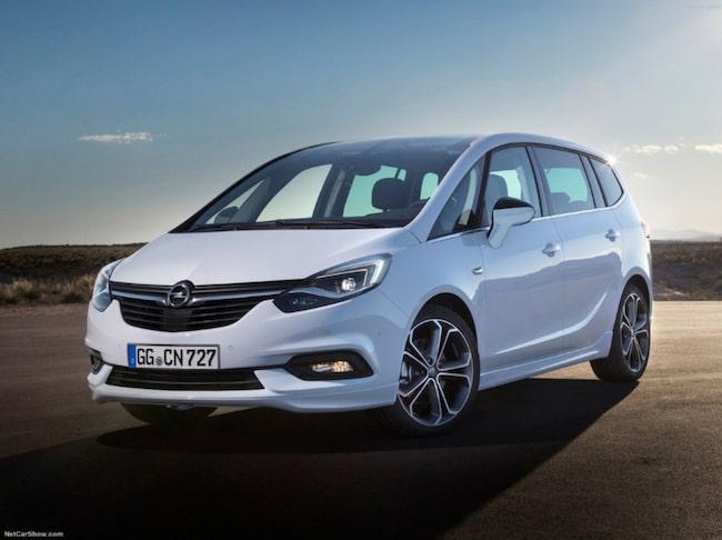 Det största lyftet har skett inuti Opel Zafira.