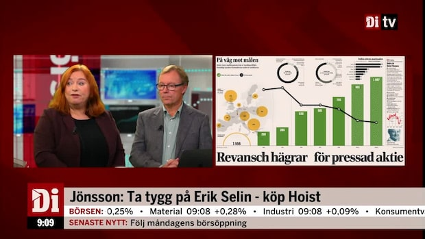 Jönsson: Ta rygg på Erik Selin - köp Hoist