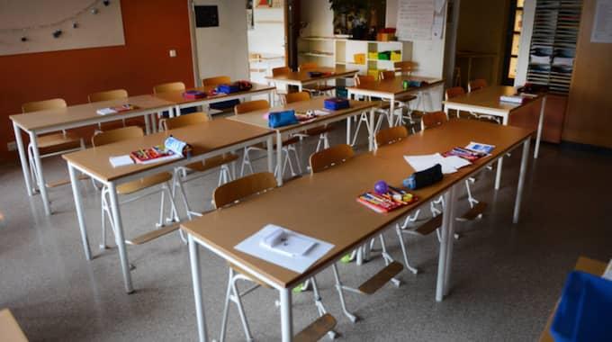 Regeringen har ett statsbidrag för att stimulera kommunerna att rusta upp skolor. Det är 330 miljoner kronor. Att dela på. För alla 290 kommuner. Foto: Christer Wahlgren / FOTOGRAF CHRISTER WAHLGREN