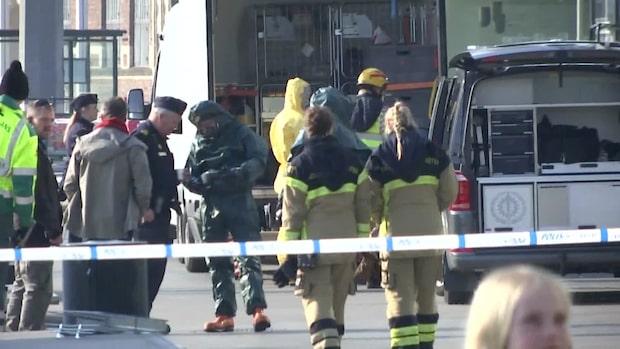 Bombtekniker på plats vid Findus huvudkontor