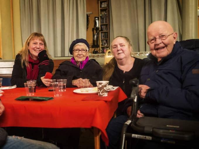 Elisabet Skatt, Kerstin Warmeius, Karin Warmeius och Stig Bryttne. Foto: Anders Ylander