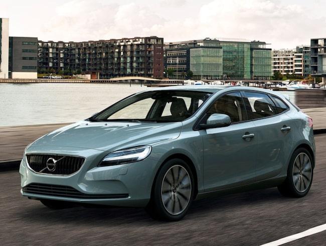Volvo V40 är mest privatleasade bilmodellen.