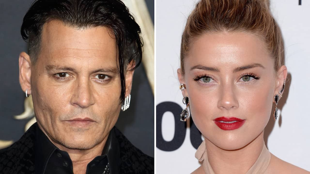 Depp anklagar exet Amber Heard för trekantsotrohet