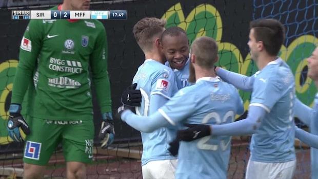 Strandberg skickar in 2-0 till MFF