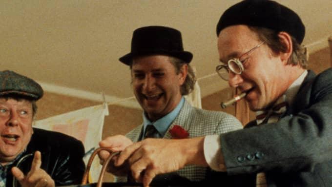 """Ulf Brunnberg och Gösta Ekman tillsammans i """"Varning för Jönssonligan"""" från 1981 Foto: FOTO: SF/TV4 / Foto: SF/TV4"""