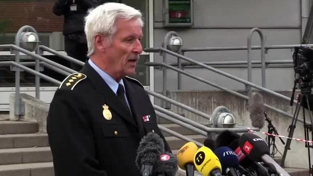 """Danska polisen: """"Liknade ett bombbälte"""""""