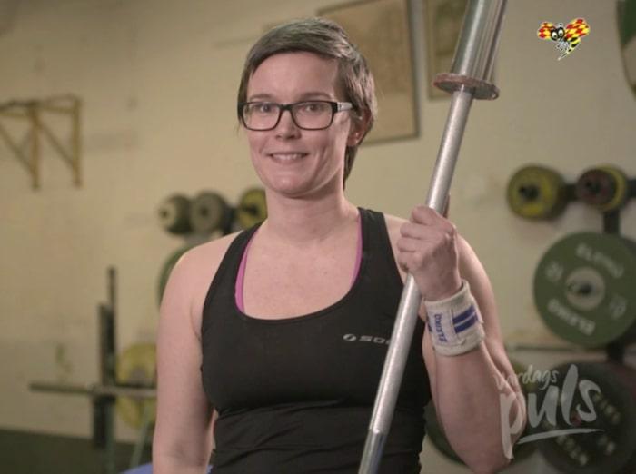 Jona Elings Knutsson har startat en styrketräningsgrupp för barn på Stockholms Atletklubb.