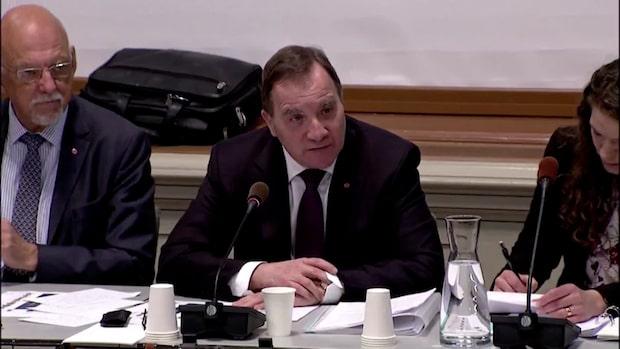 """Stefan Löfven: """"Vill se ett motiv för förlängning"""""""