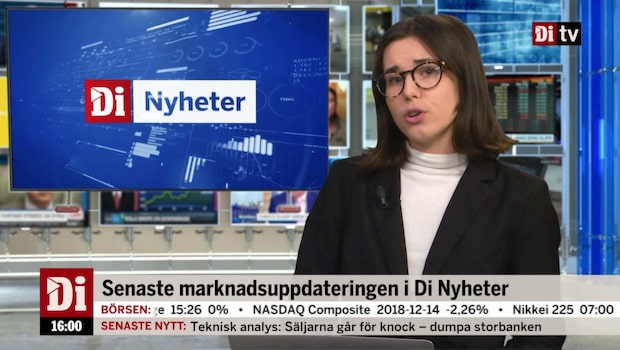 Di Nyheter 16:00 – Trump attackerar Fed