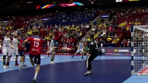Höjdpunkter: Norge stormar mot semifinal
