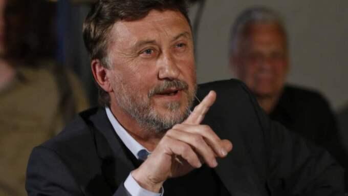 """""""Jag är inte nazist. Jag är inte med i Svenskarnas parti. Jag är journalist"""", säger Janne Josefsson till Expressen.se. Foto: Jan Wiriden"""