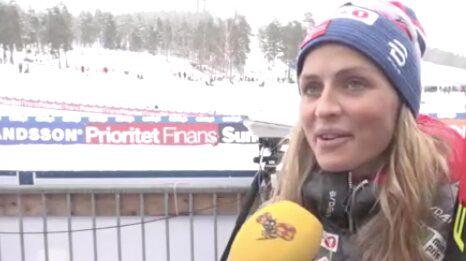 """Therese Johaug: """"Har varit en fantastisk säsong"""""""
