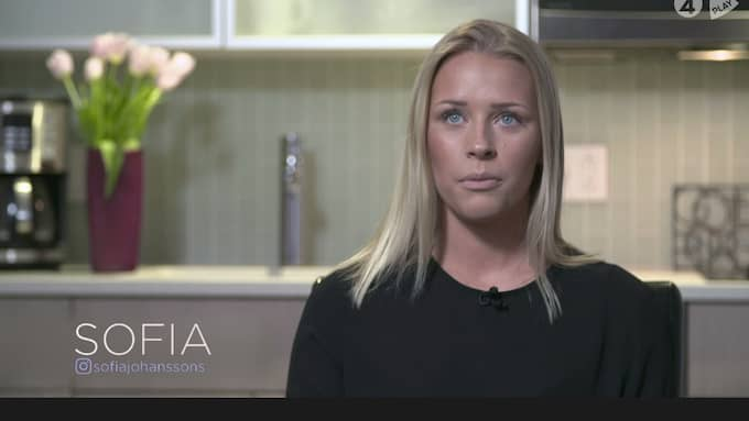 Sofia Johansson. Foto: TV4