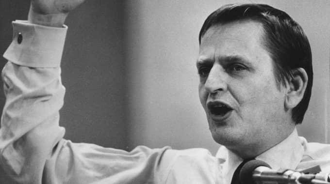Dåvarande statsminister Olof Palme. Foto: Per Kagrell