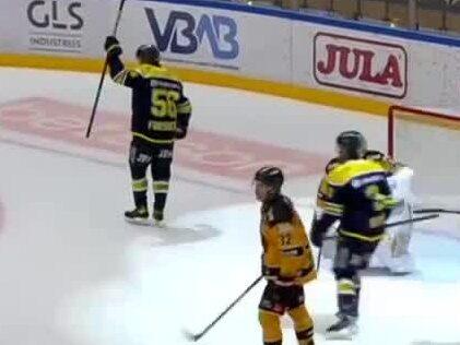 Fredrik Forsberg dunkar in tre mål mot Luleå – toppar målligan i SHL