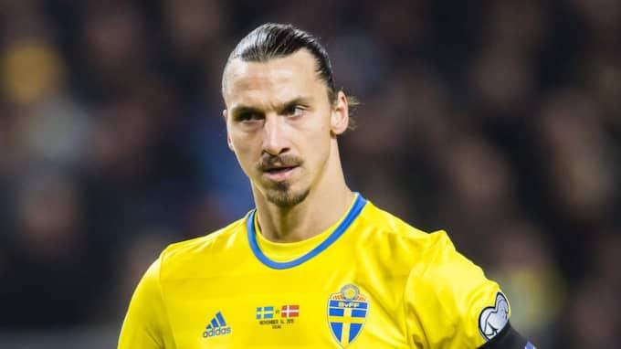Sverige drömmer om att Zlatan ska spela OS för Sverige. Foto: Andreas Sandström