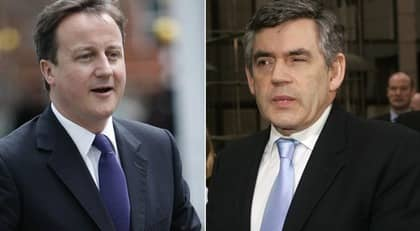 Cameron eller Brown är frågan? Foto: Richard Pohle