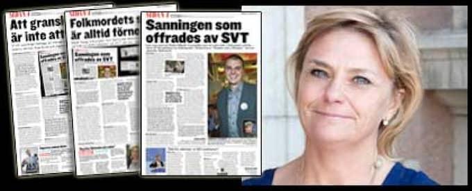 """Den 24 november skickade ICTY ett brev till SVT-chefen Eva Hamilton där man enligt Dagens Nyheter påpekade flera felaktigheter i filmen """"Staden som offrades""""."""