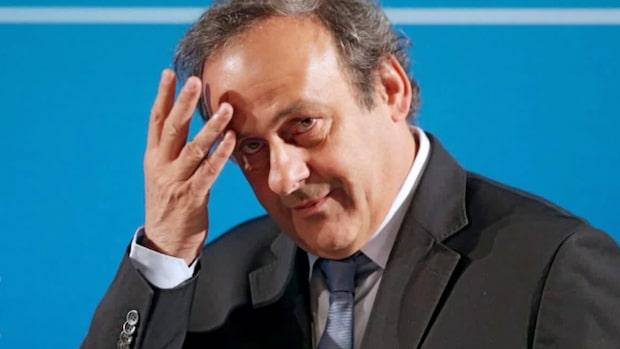Michel Platini har gripits av polis