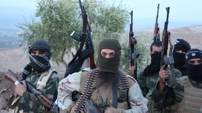 Terrornätverket Islamiska staten, IS. Foto: Medyan Dairieh