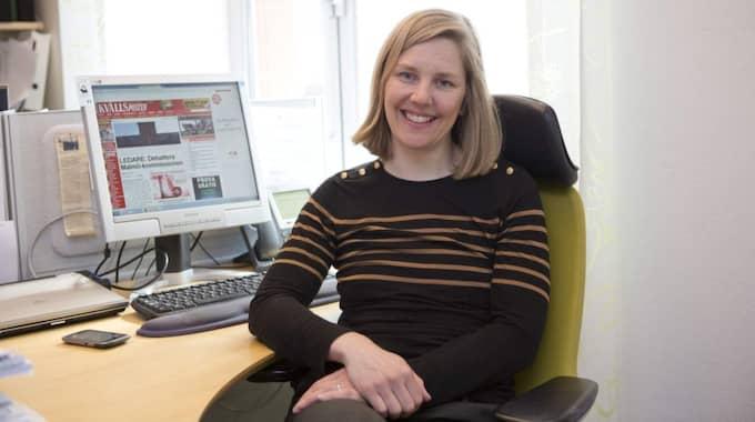 Karolina Skog, gruppledare i kommunfullmäktige och kommunalråd i Malmö. Foto: Erik Ahman