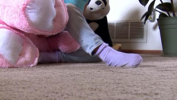 Femårig flicka avstängd från skolan