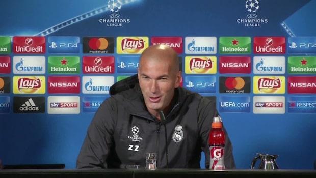 """Zidane lämnar Real: """"Inte överraskad"""""""