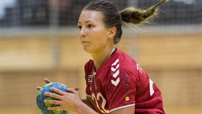 Cassandra Tollbring gjorde åtta mål mot Sävehof. Foto: PETTER ARVIDSON