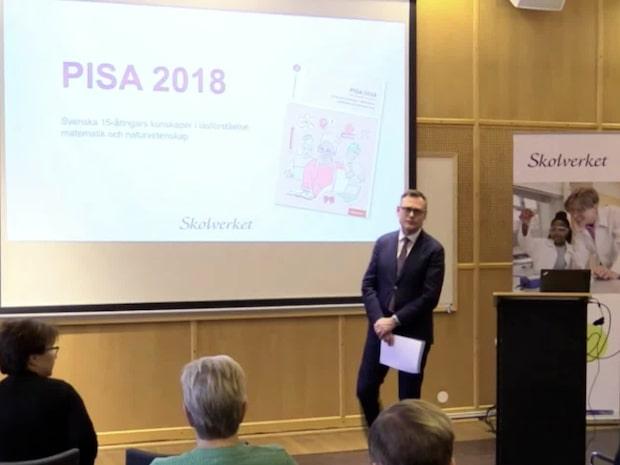 Den svenska skolan placerar sig nu över OECD-snittet