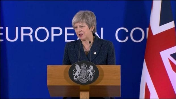 "May: ""Nu kan vi ordnat lämna EU"""
