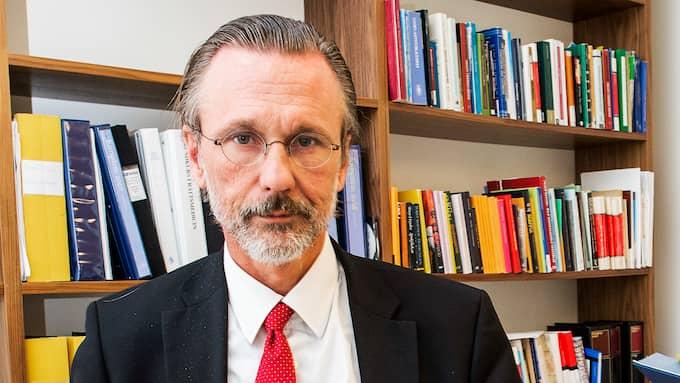 """Stjärnadvokaten Thomas Olsson har tackat ja till att försvarara """"Falconmannen"""" Emil Amir Ingmanson som numera heter Max Serwin. Foto: SUVAD MRKONJIC"""