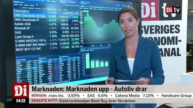 Marknadskoll: Marknaden upp - Autoliv drar