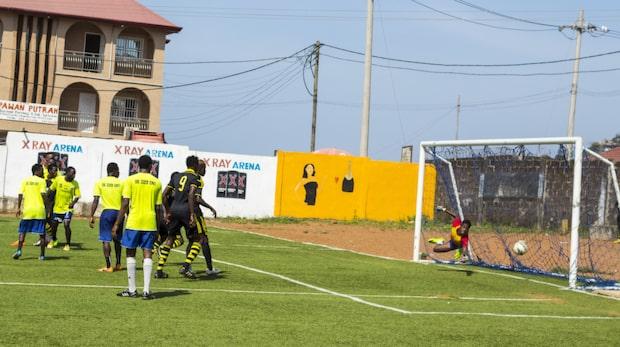 Sierra Leones svåra tid efter fotbollsförbudet