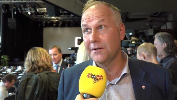 """Jonas Sjöstedt om regeringsfrågan: """"Det oroar mig"""""""