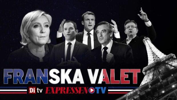 Frankrike väljer president