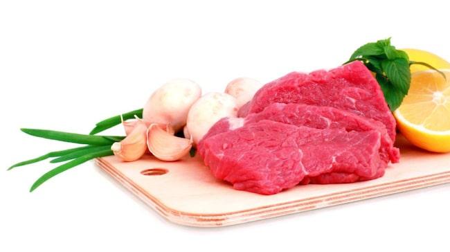 varför är rött kött dåligt