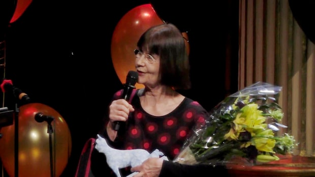 Gunilla Lundgren vinner Heffaklumpen 2018