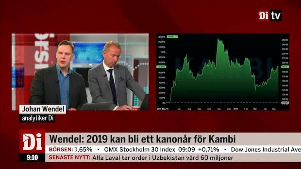 Analytikern: 2019 kan bli ett kanonår för Kambi
