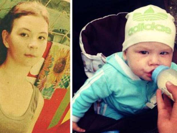 Viktoria, 17, festade i en vecka - lämnade bebisen ensam hemma