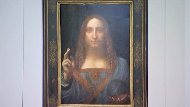 Sista privata da Vinci-målningen under klubban