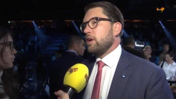 """Jimmie Åkesson: """"Ulf Kristersson försökte överträffa mig"""""""