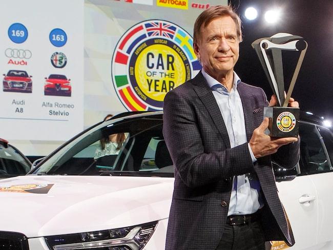 Håkan Samuelsson var betydligt nöjdare i år än förra gången Volvo var i final 2016.